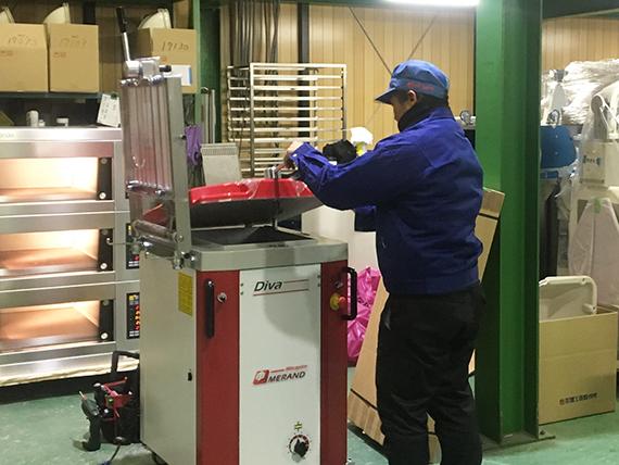 輸入品も自社製品同等の品質基準を満たして出荷しています。
