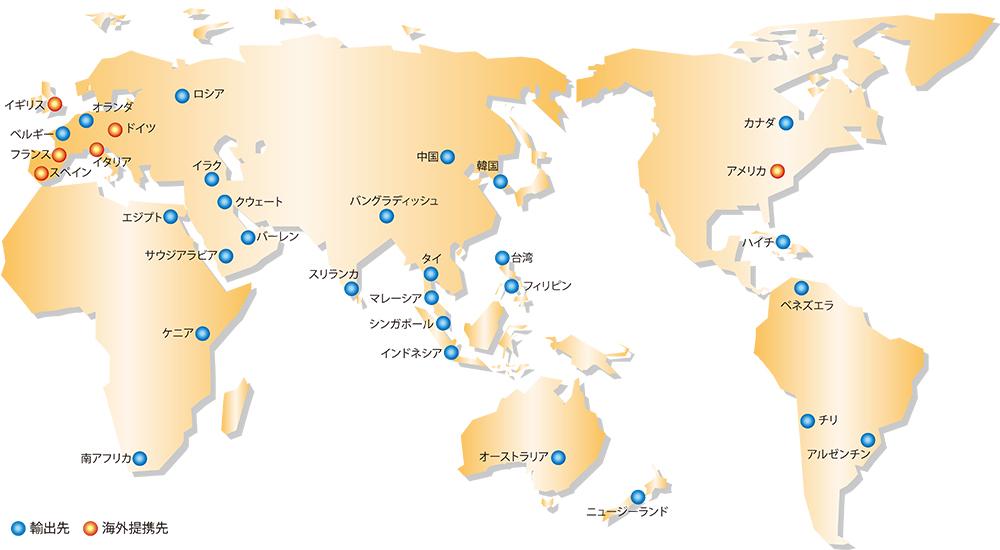 海外ネットワーク