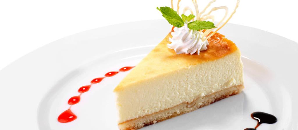 チーズケーキの乳化